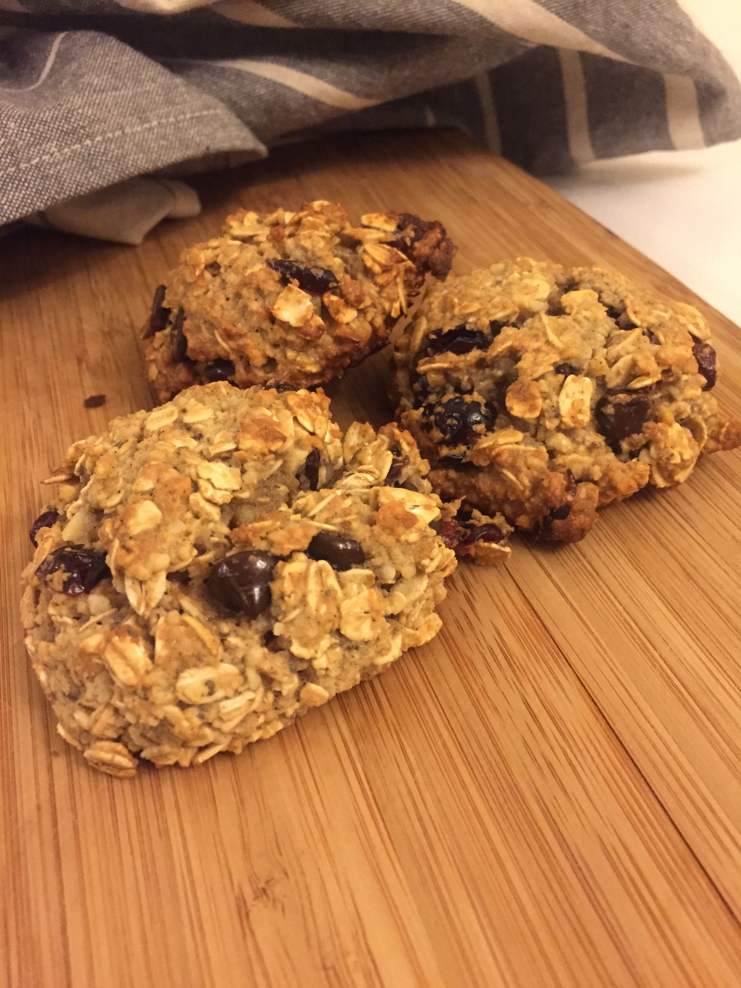 On-The-Go Gluten Free Breakfast Cookie