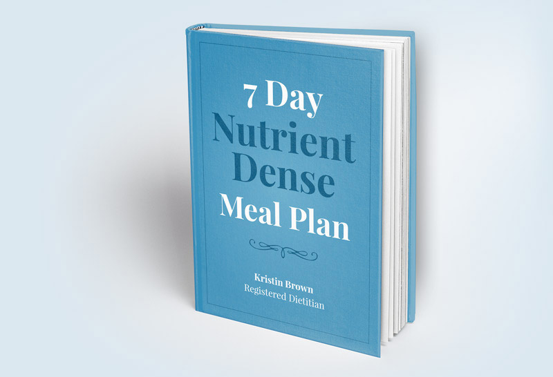 7 Day Nutrient Dense meal Plan