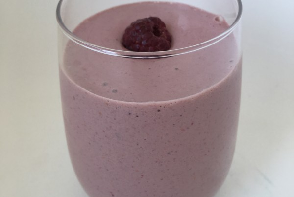 keto raspberry smoothie